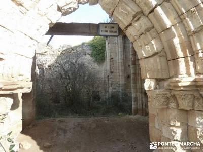 El Monasterio del Bonaval y el cañón del Jarama;viajes rutas grupo senderismo madrid